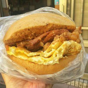 外垵刈包 福氣早餐店